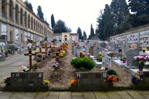 Cemetery in Fiesole