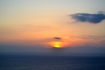 One of the many Santorini sunsets